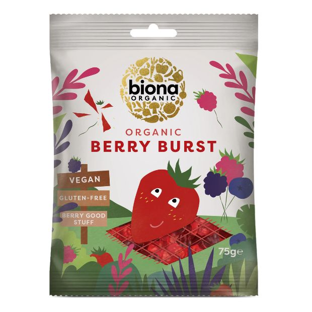 Biona Organic Berry Bursts 75g - Happy Tummies