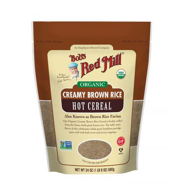 Bobs Red Mill Organic Brown Rice Farina 737g - Happy Tummies