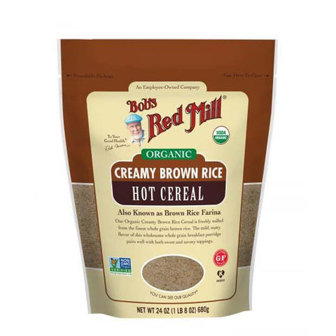 Bobs Red Mill Organic Brown Rice Farina 737g