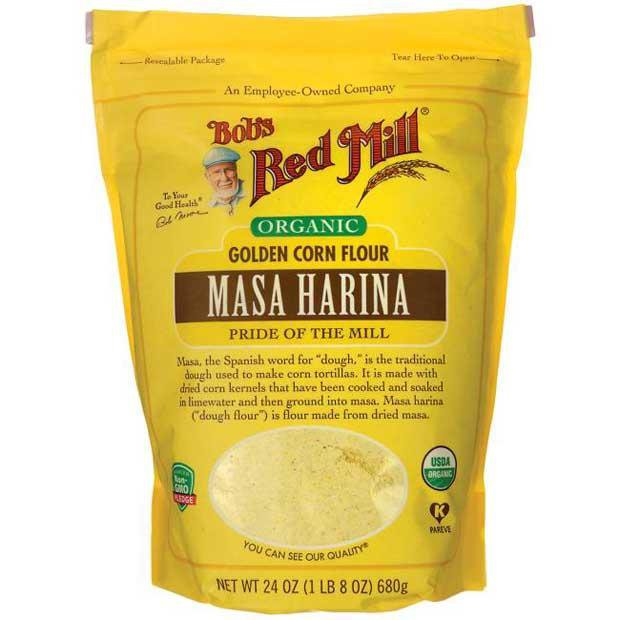 Bobs Red Mill Organic Masa Harina Golden Corn Flour 680g - Happy Tummies