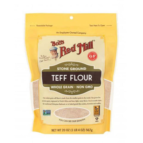 Bobs Red Mill Teff Flour 680g - Happy Tummies