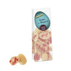 Bonvita Organic Easter Chocolate Half Eggs White with Raspberry 100g