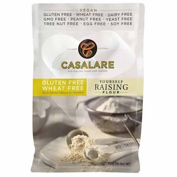 Casalare Gluten Free 'Yourself' Self Raising Flour 750g