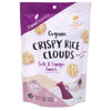Ceres Organics Crispy Rice Clouds Salt & Vinegar 50g - Happy Tummies