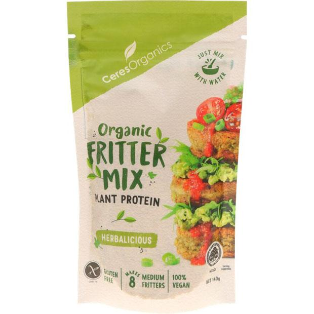 Ceres Organics Fritter Mix Herbalicious 140g