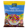 Clarana Vegan Candy Coated Chocolate Buttons 125g - Happy Tummies