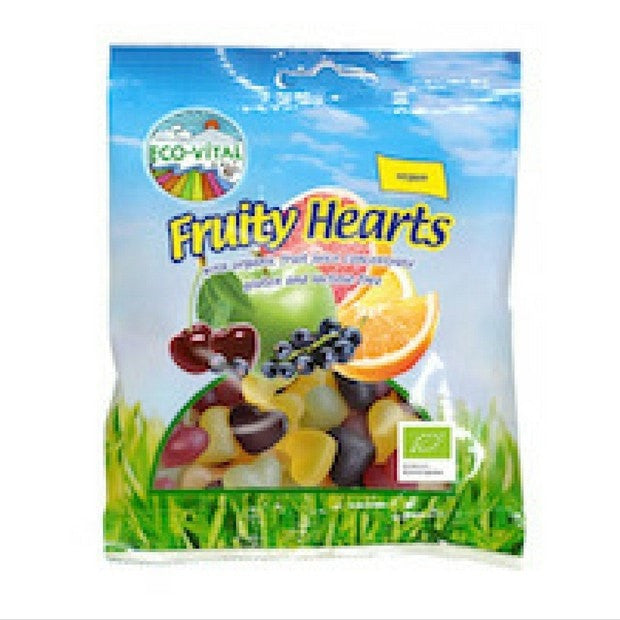 Eco-Vital Fruity Hearts 100g - Happy Tummies