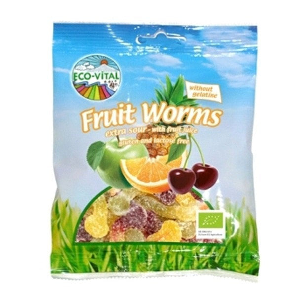 Eco-Vital Fruity Snakes 100g - Happy Tummies