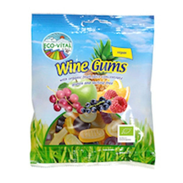 Eco-Vital Wine Gums 100g - Happy Tummies