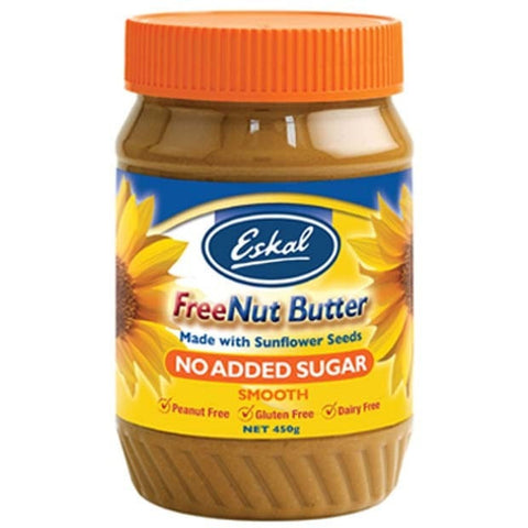 Eskal Free Nut Butter No Added Sugar 450g - Happy Tummies