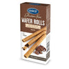 Eskal Gluten Free Wafer Rolls Chocolate Cream 100g - Happy Tummies