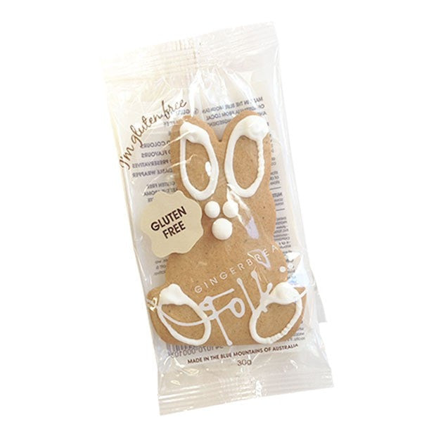 Gingerbread Folk Gingerbread Bunny 30g - Happy Tummies
