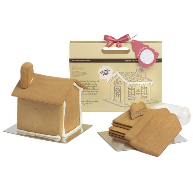 Gingerbread Folk Gluten Free Gingerbread House Kit 600g - Happy Tummies