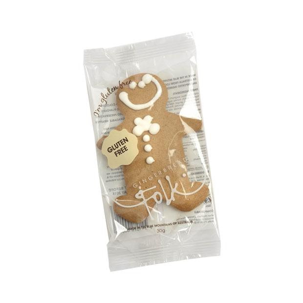 Gingerbread Folk Gingerbread Man 30g - Happy Tummies
