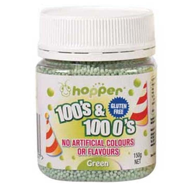 Hopper 100s & 1000s Green 150g - Happy Tummies