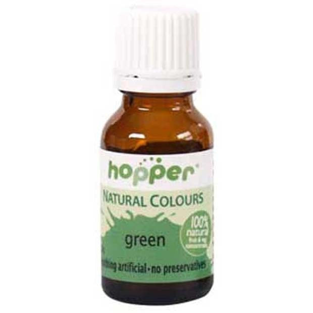 Hopper Natural Food Coloring Green 20g | cake decorations - Happy ...