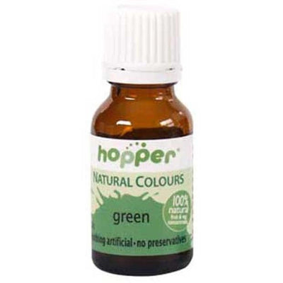 Hopper Natural Food Coloring Green 20g - Happy Tummies