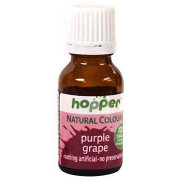 Hopper Natural Food Coloring Purple 20g - Happy Tummies