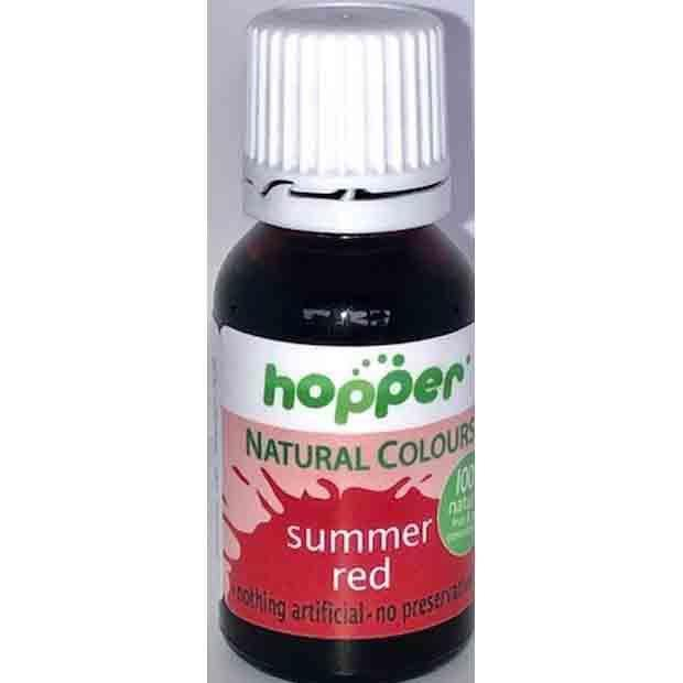 Hopper Natural Food Coloring Summer Red 20g