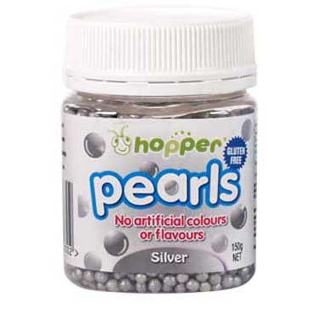 Hopper Pearls Silver 150g - Happy Tummies