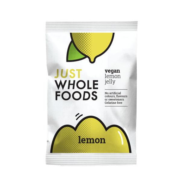 Just Wholefoods Lemon Jelly 85g **SHORT DATED - 06/20** - Happy Tummies