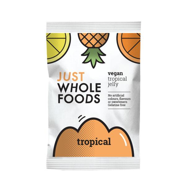 Just Wholefoods Tropical Jelly 85g - Happy Tummies