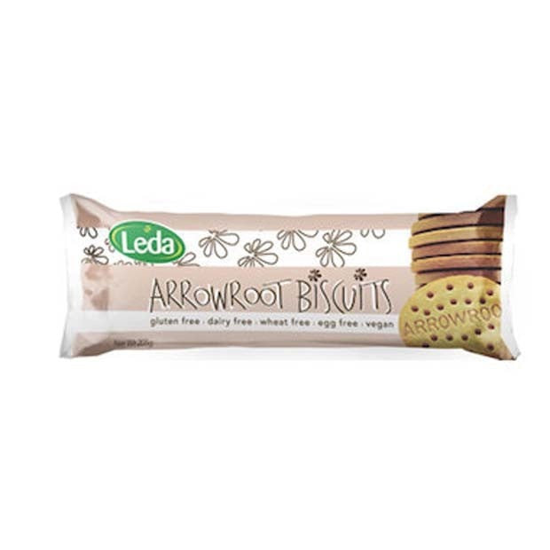 Leda Arrowroot Biscuits 205g - Happy Tummies