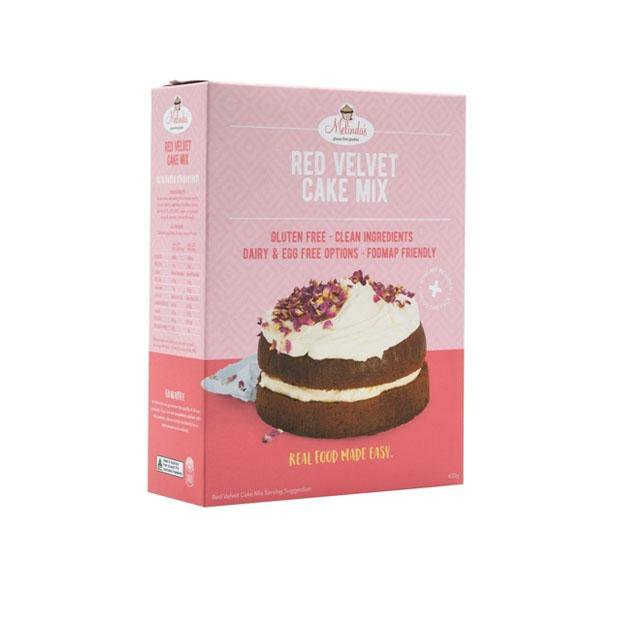 Melindas Decadent Red Velvet Cake 430g - Happy Tummies
