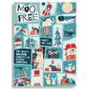 Moo Free Advent Calendar White Chocolate 70g
