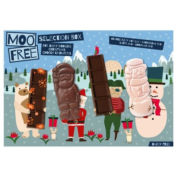 Moo Free Christmas Selection Box 105g