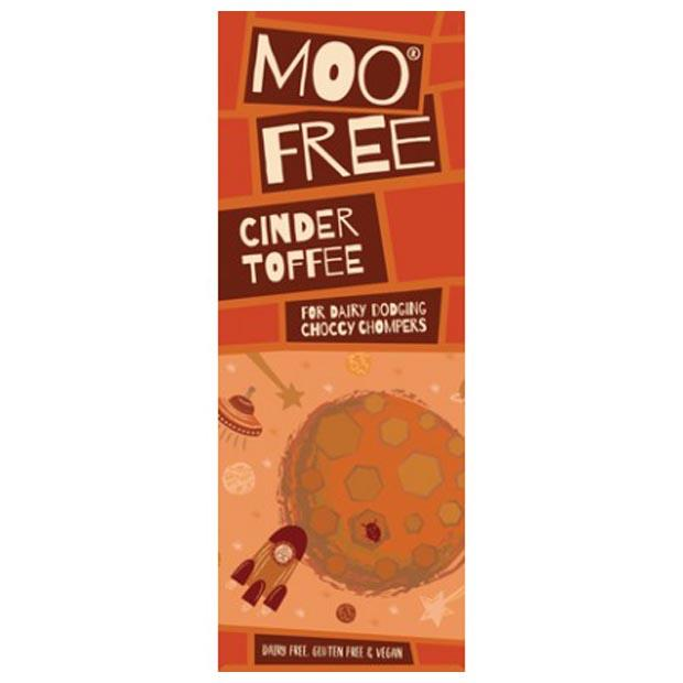 Moo Free Premium Cinder Toffee (Honeycomb) Chocolate Bar 80g - Happy Tummies