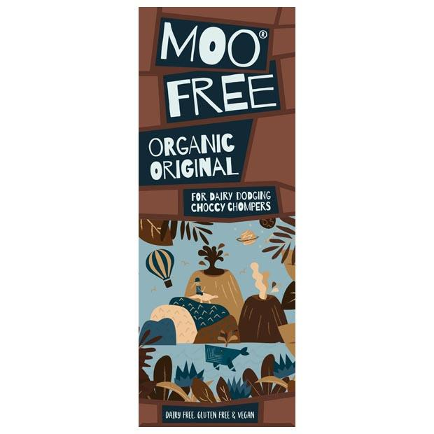 Moo Free Premium Original Chocolate Bar 80g - Happy Tummies