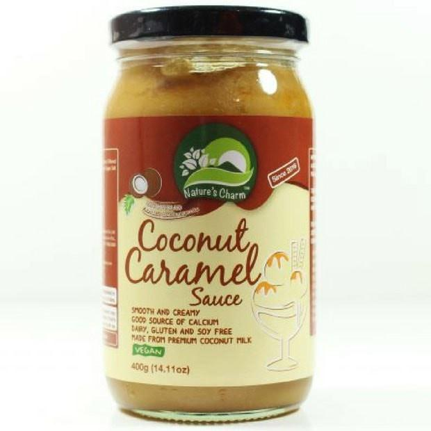 Natures Charm Coconut Caramel Sauce 400g - Happy Tummies