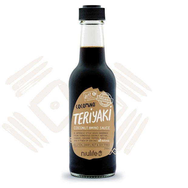 Niulife Coconut Amino Teriyaki Sauce 250mls - Happy Tummies