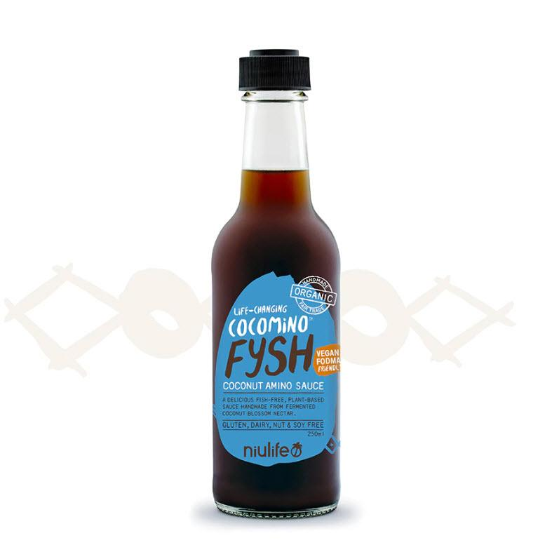 Niulife Fysh Coconut Amino Sauce 250ml - Happy Tummies