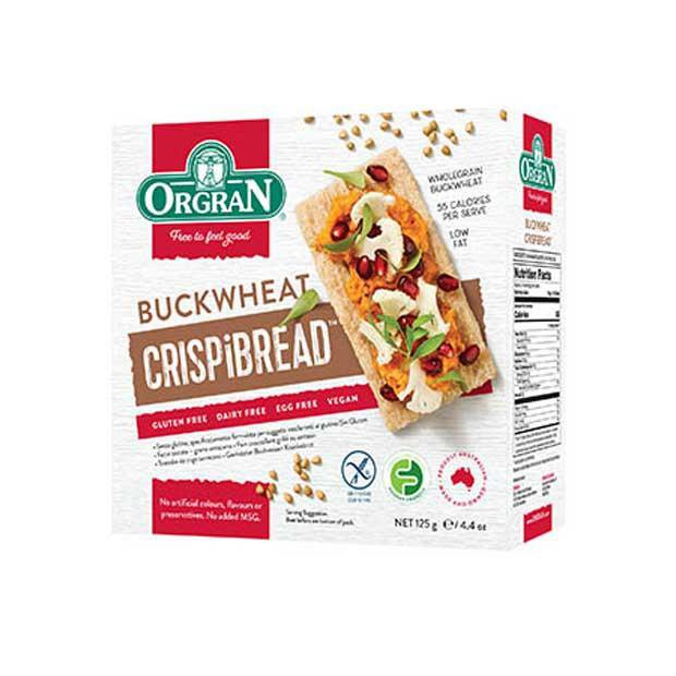 Orgran Buckwheat Crispibread 125g - Happy Tummies