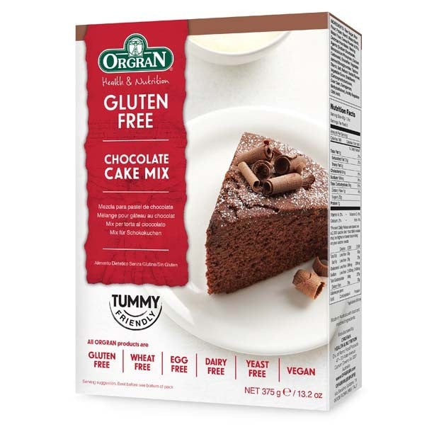Orgran Chocolate Cake Mix 375g - Happy Tummies