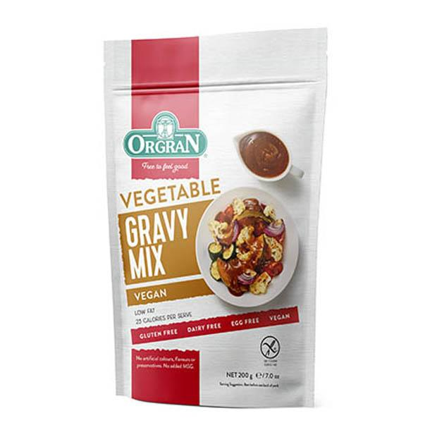 Orgran Vegetable Gravy Mix 200g