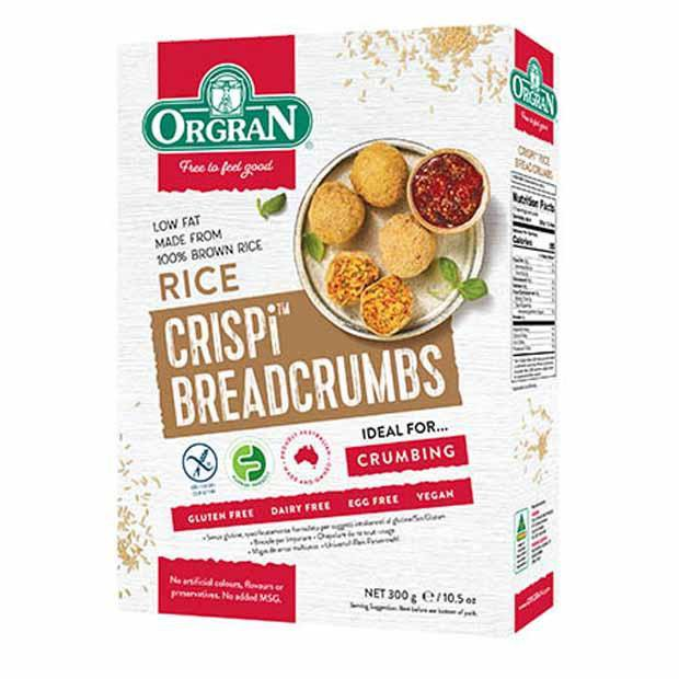 Orgran Rice Breadcrumbs 300g - Happy Tummies
