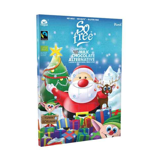 Plamil So Free Advent Calendar Milk Chocolate 110g - Happy Tummies