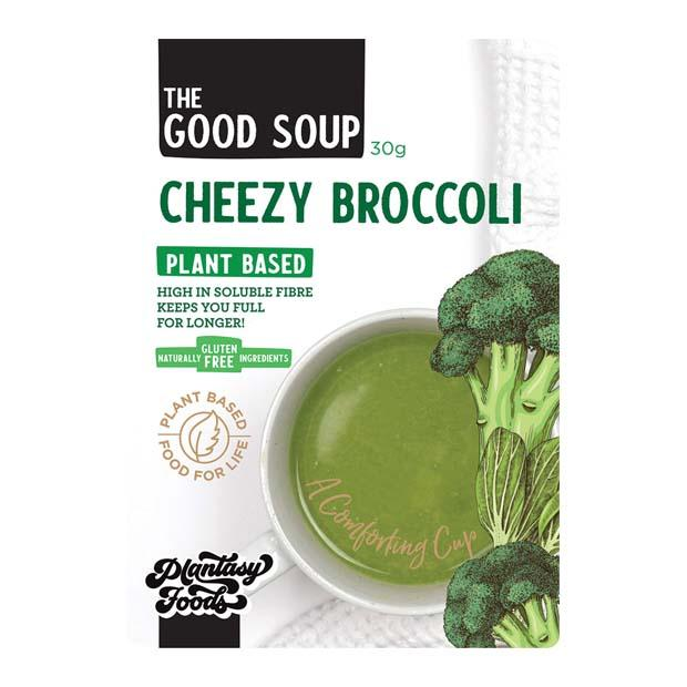 Plantasy Foods The Good Soup Cheezy Broccoli 30g