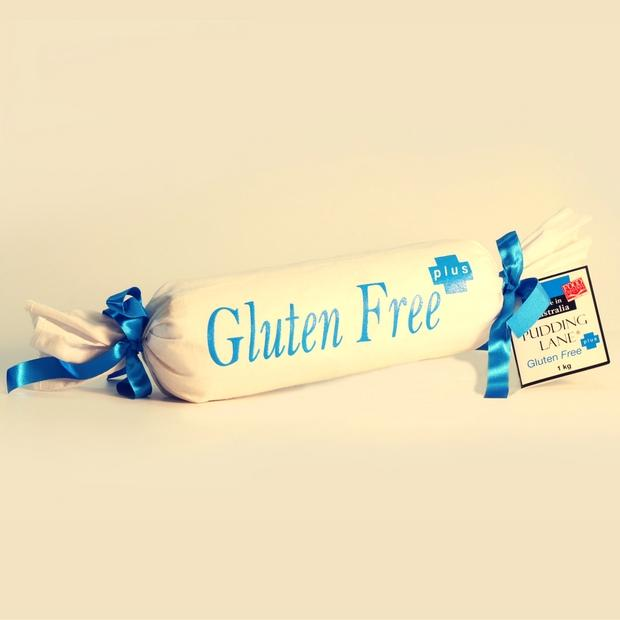 Pudding Lane Gluten Free Christmas Pudding Log 500g - Happy Tummies