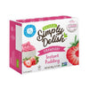 Simply Delish Instant Pudding Strawberry 48g