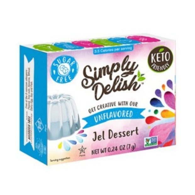 Simply Delish Vegan Jelly Unflavoured 20g