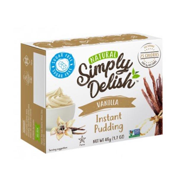 Simply Delish Instant Pudding Vanilla 48g