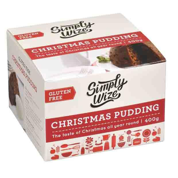 Simply Wize Gluten Free Christmas Pudding 400g - Happy Tummies