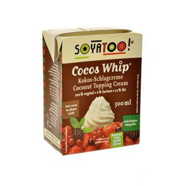 Soyatoo TETRA Cocos Whip 300ml - Happy Tummies