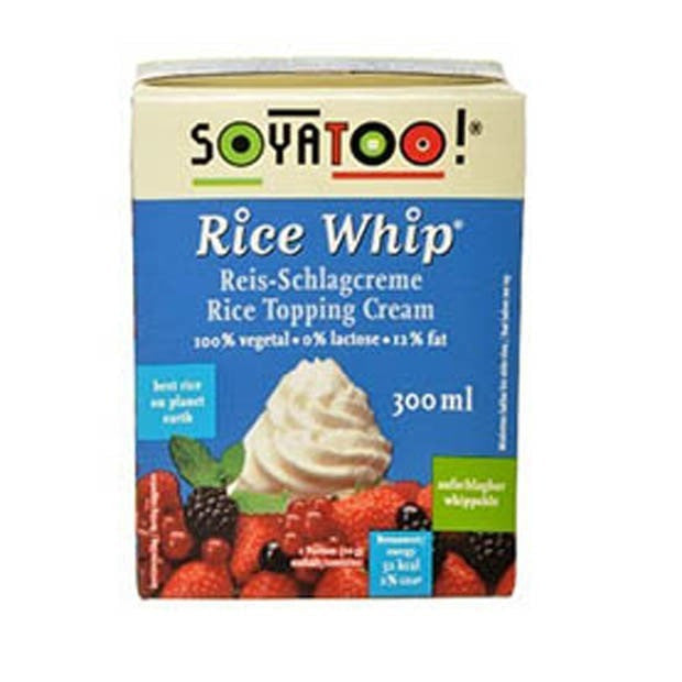 Soyatoo TETRA Rice Whip 300ml - Happy Tummies