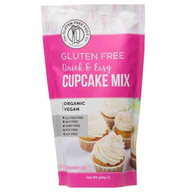 The Gluten Free Food Co Gluten Free Cupcake Mix 500g - Happy Tummies