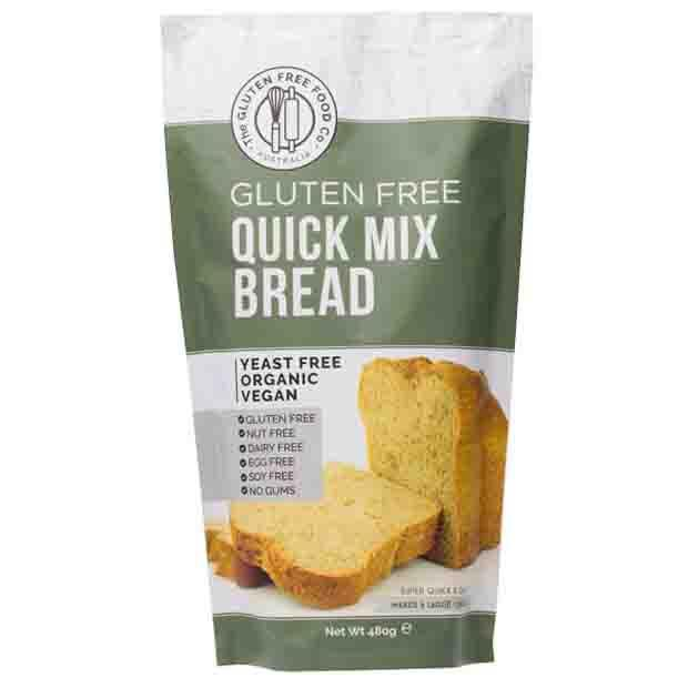 The Gluten Free Food Co Gluten Free Quick Bread Mix 480g - Happy Tummies